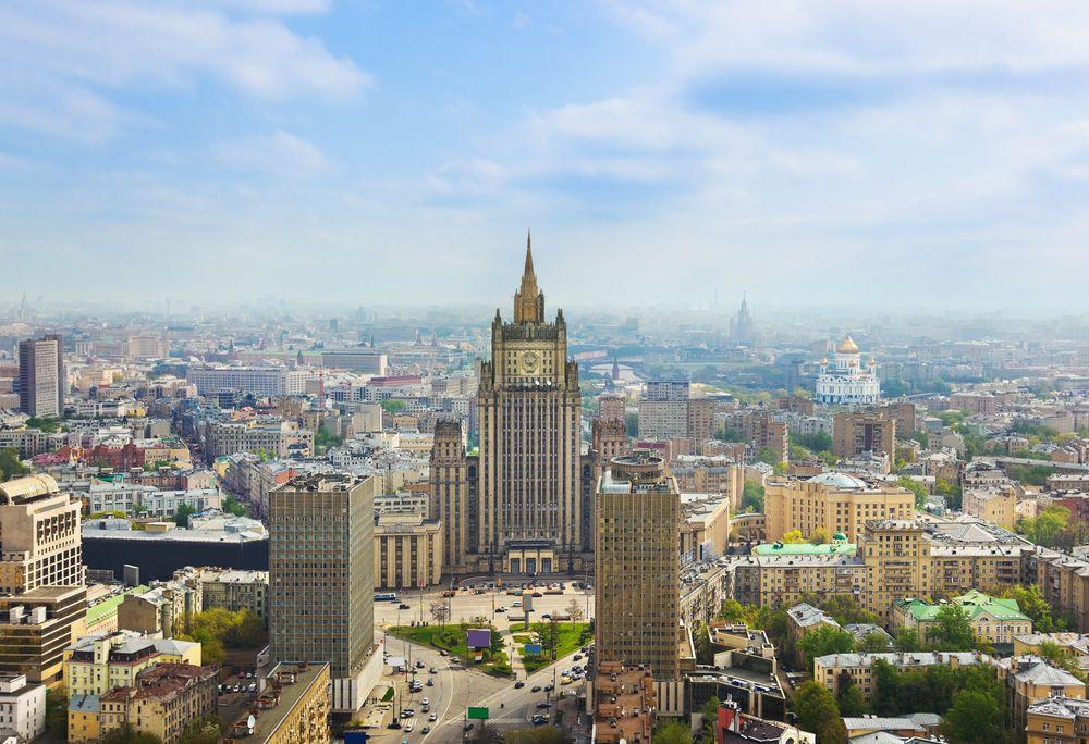 Здание МИД России на Смоленской площади