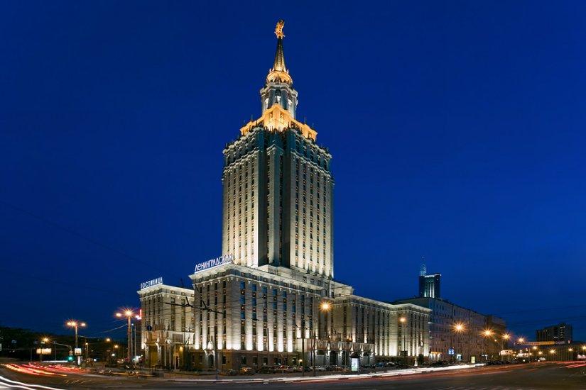 Гостиница Ленинградская на Каланчевской улице