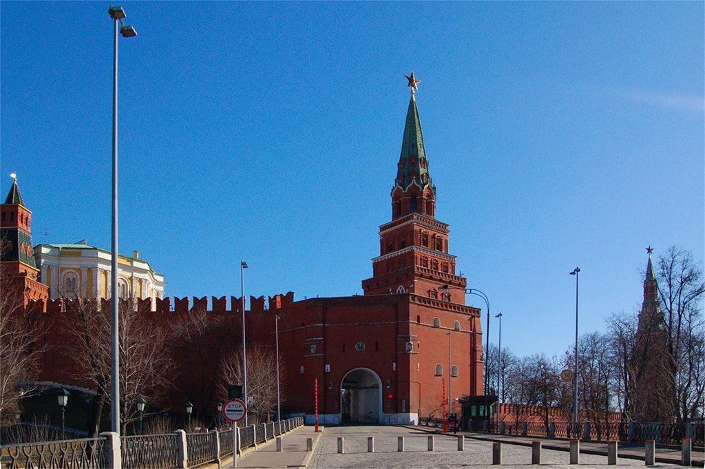 Боровицкая башня Московского Кремля
