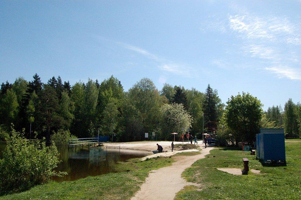 Черное озеро вход
