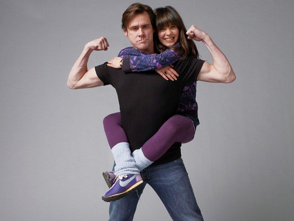 Джим Керри и его дочь