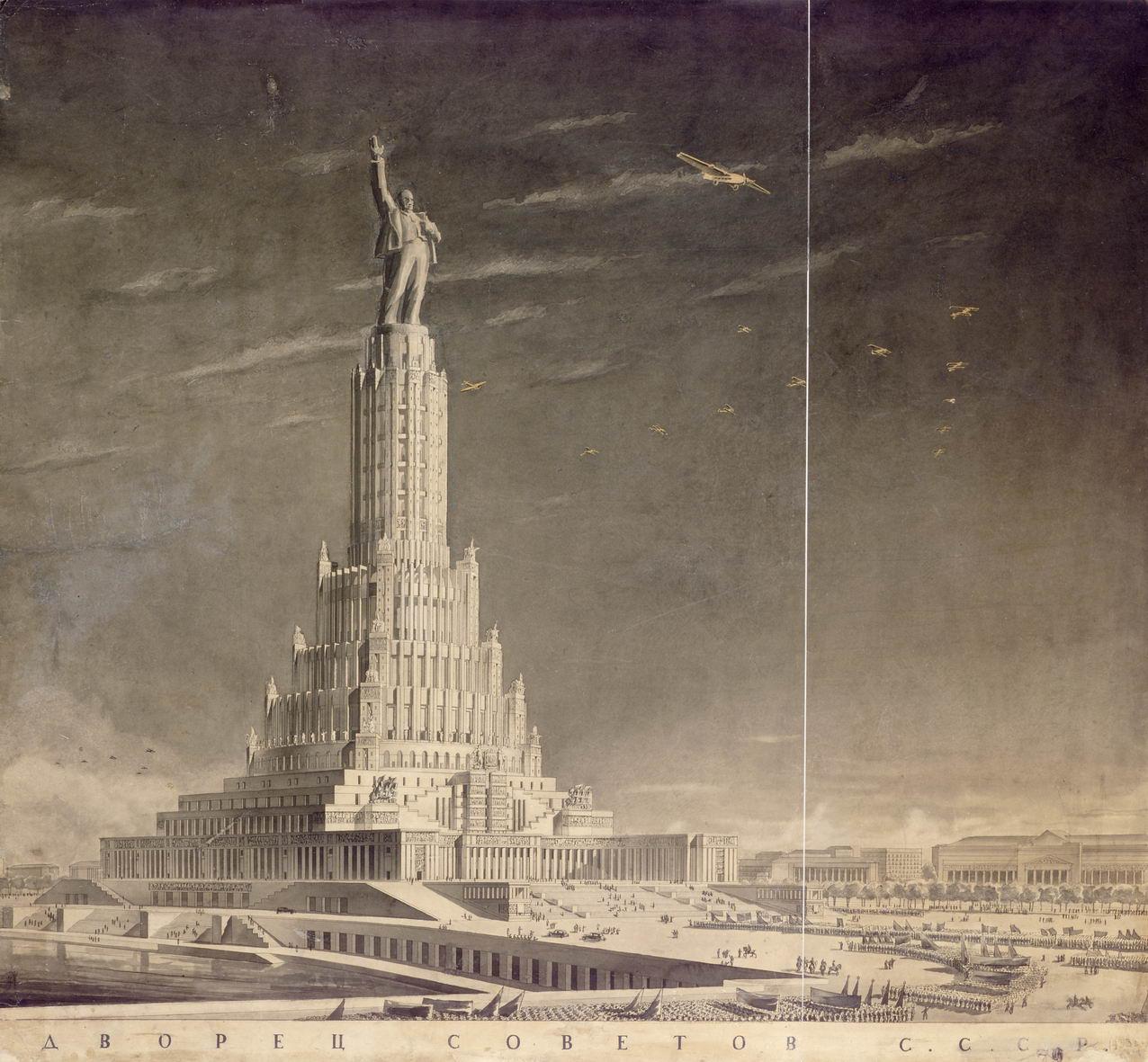 Дворец Советов в Москве