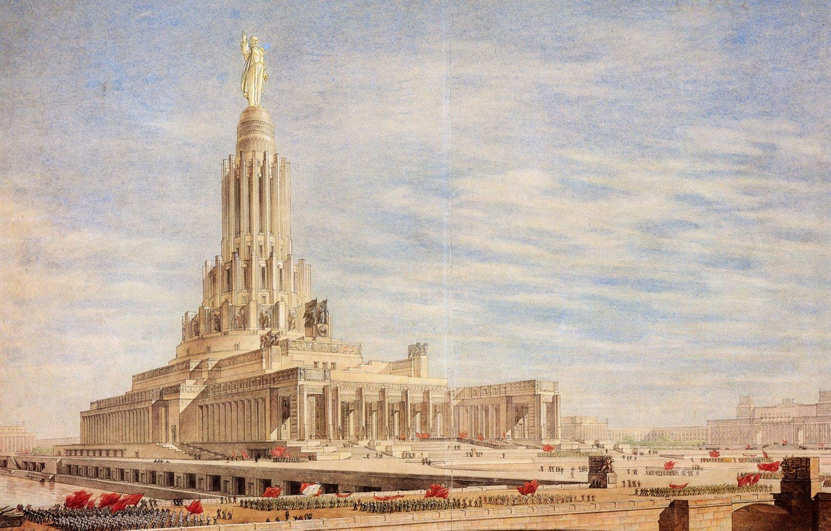 Дворец Советов – Гигант СССР