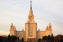 Главное здание МГУ на Воробьевых горах