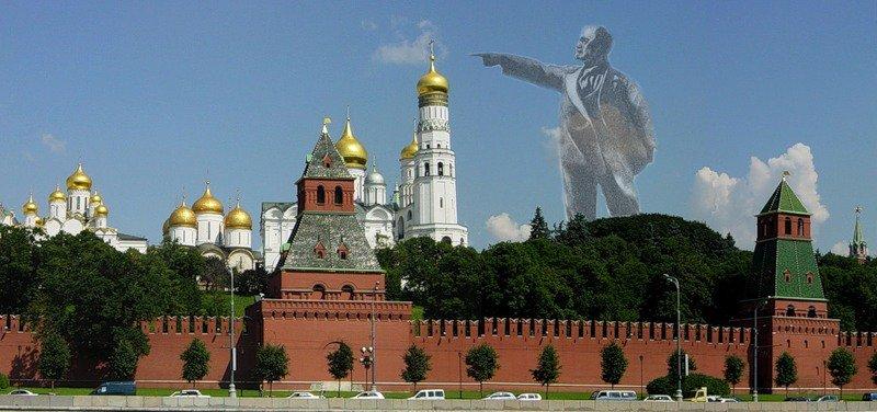 Высота памятника Ленина 100 м
