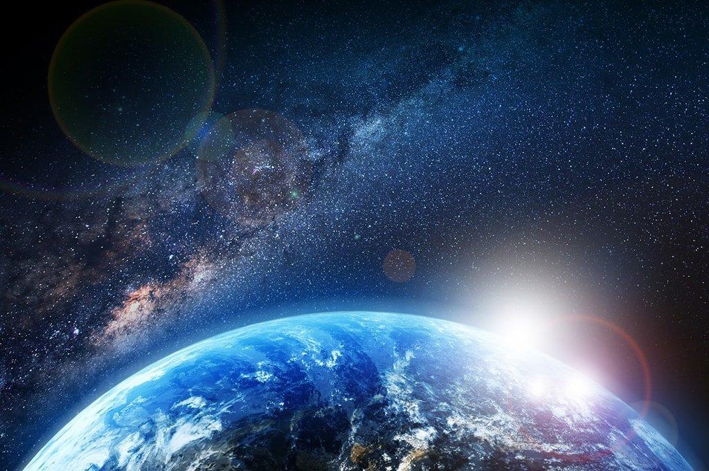 Космонавт заснял с орбиты экологическую катастрофу