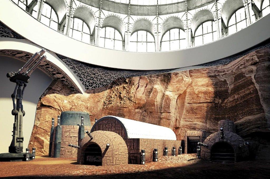 Музей Марс-Тефо на ВДНХ