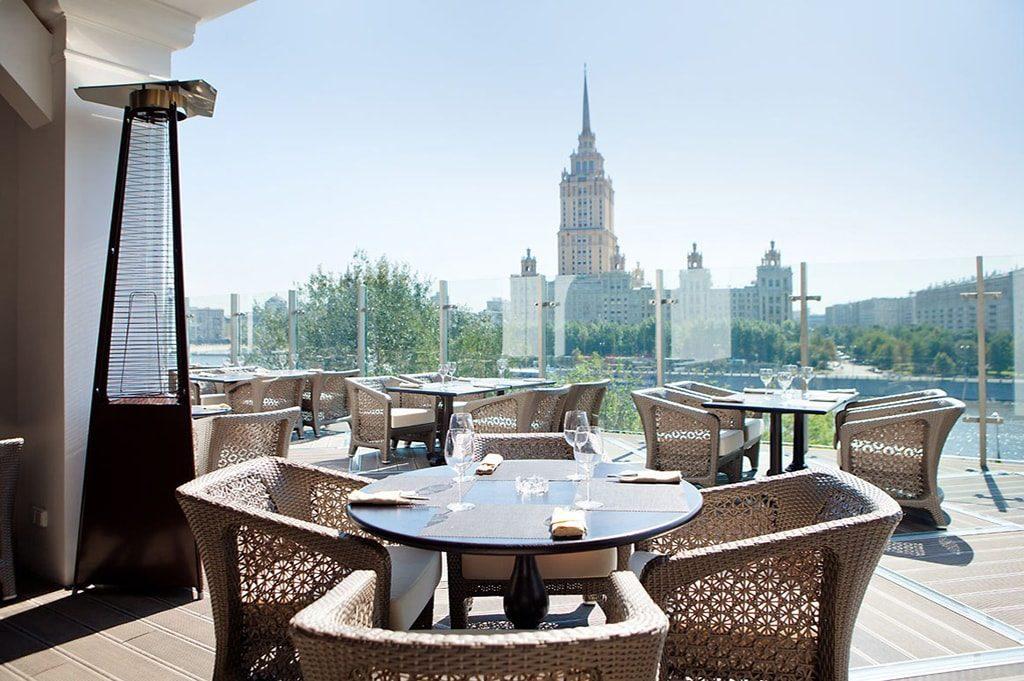 Необычные кафе Москвы – смотрим вверх