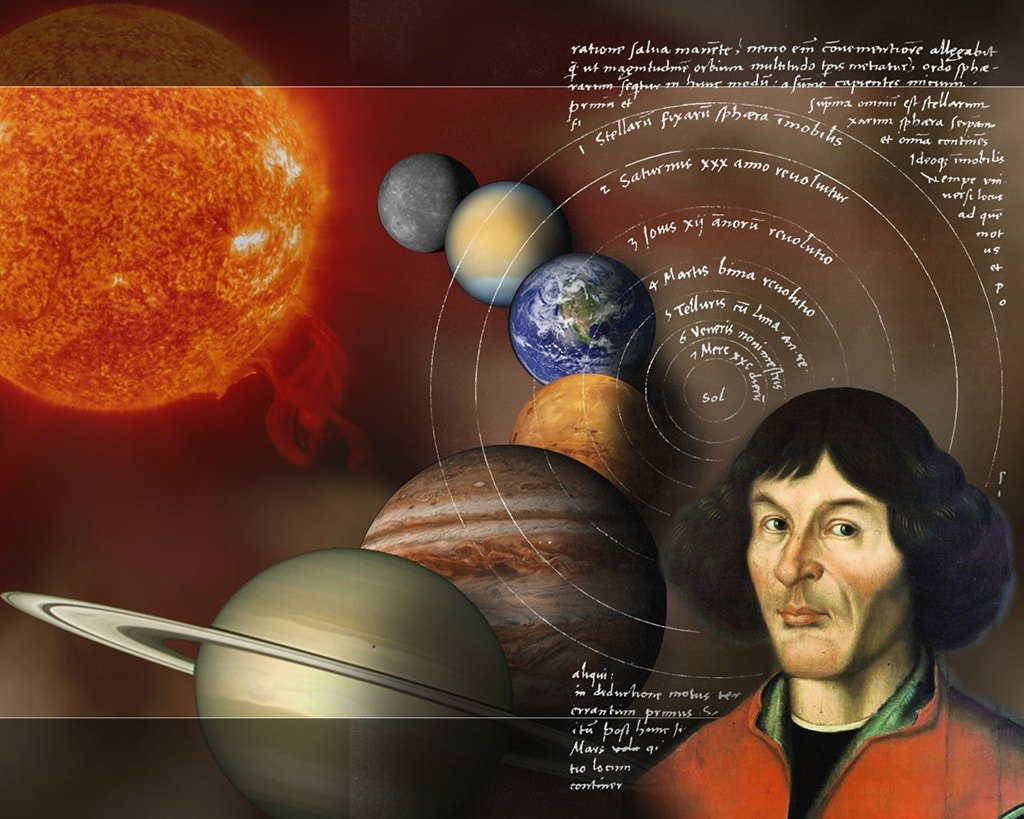 nicolaus copernicus faced by paradigm when he formulated the earth is not the universes center