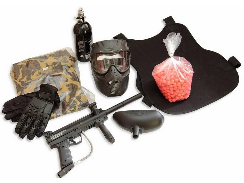 Обязательное снаряжение пейнтболиста