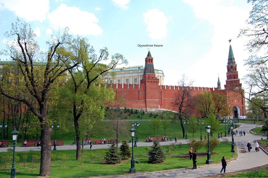 Оружейная башня Московского Кремля
