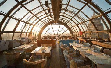Панорамные рестораны Москвы – ТОП лучших