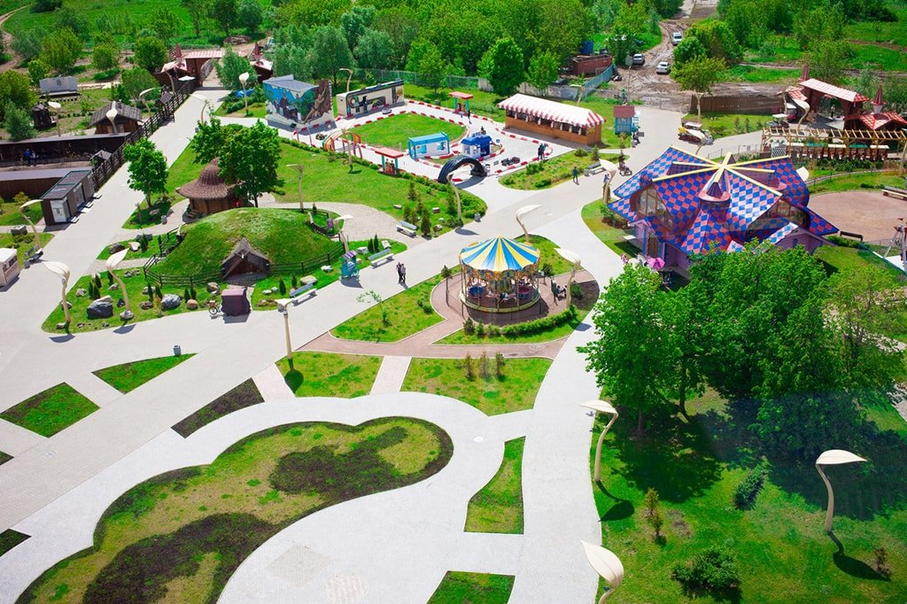 Парк аттракционов SKAZKA