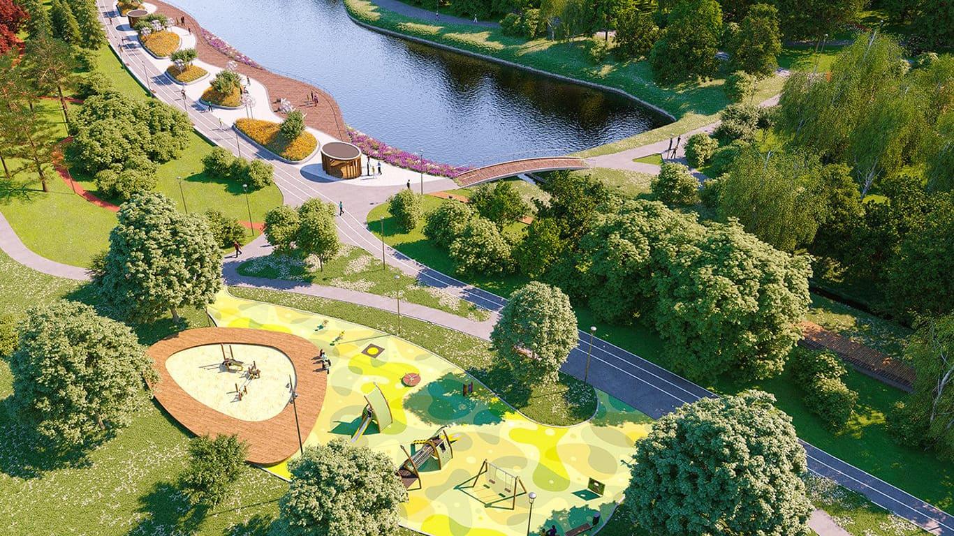 Парк Горького в Москве Фото история адрес аттракционы карта что посмотреть зимой и летом