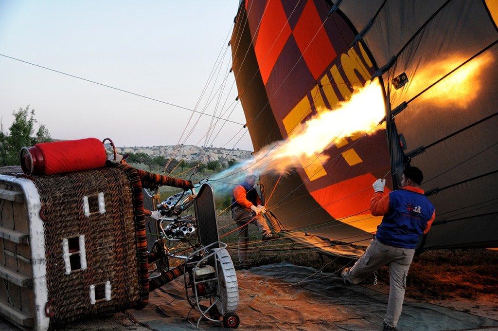 Полет на воздушном шаре в Москве_Подготовка