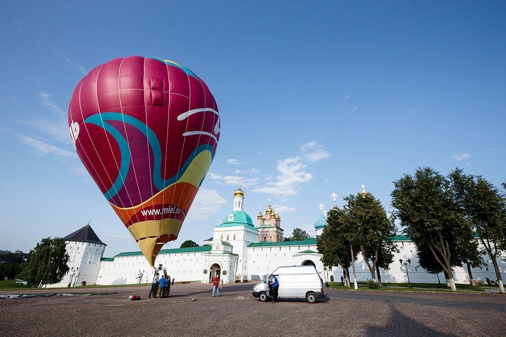 Полет на воздушном шаре в Москве_Сергиев Посад