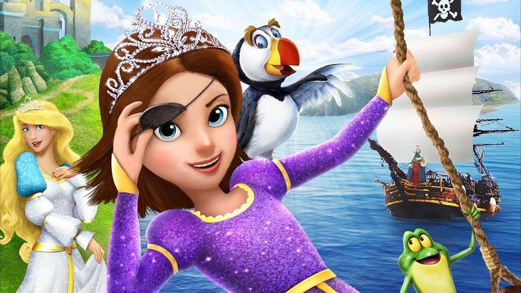 Принцесса Лебедь 6 Пират или принцесса