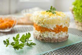 Рецепт салата Мимоза – Классический