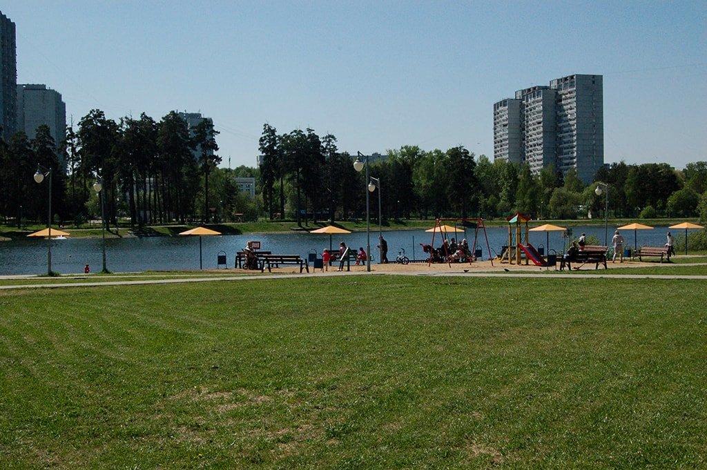 Школьное озеро вход