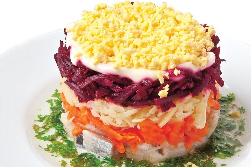 Салат под шубой