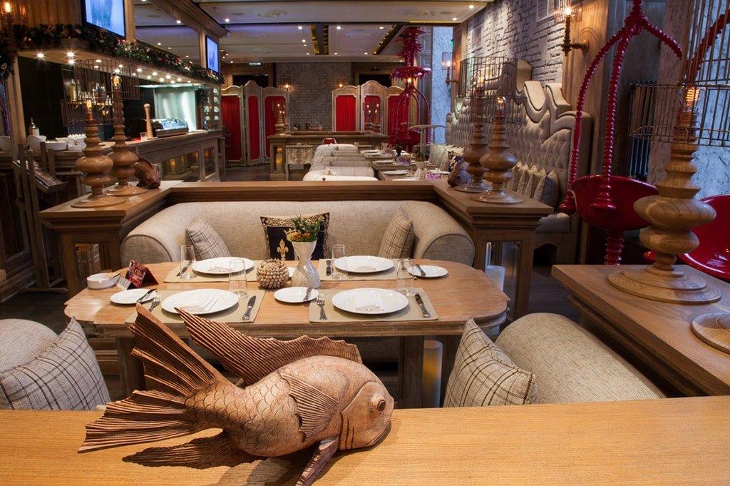 Новый рыбный ресторан в москве