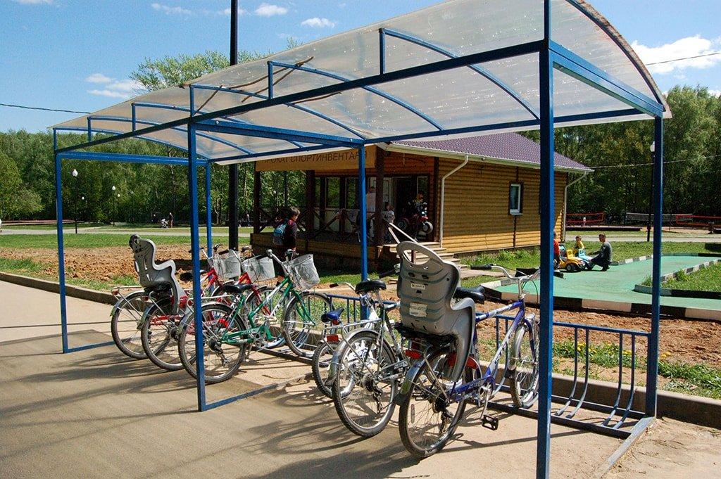 Тропареский стоянка для велосипедов