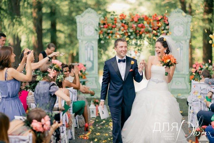 Свадьба в Середниково. Источник: студия стильных свадеб для двоих