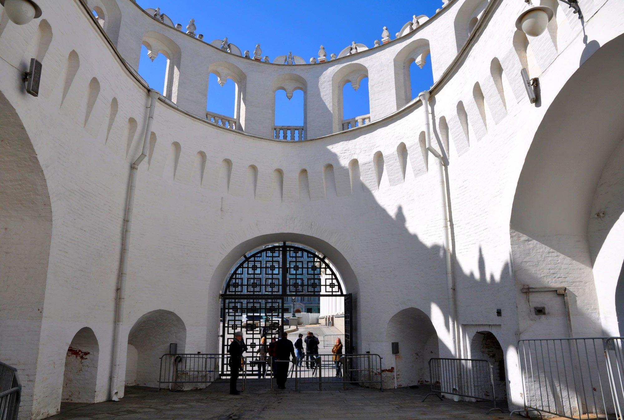Внутри Кутафьи башни