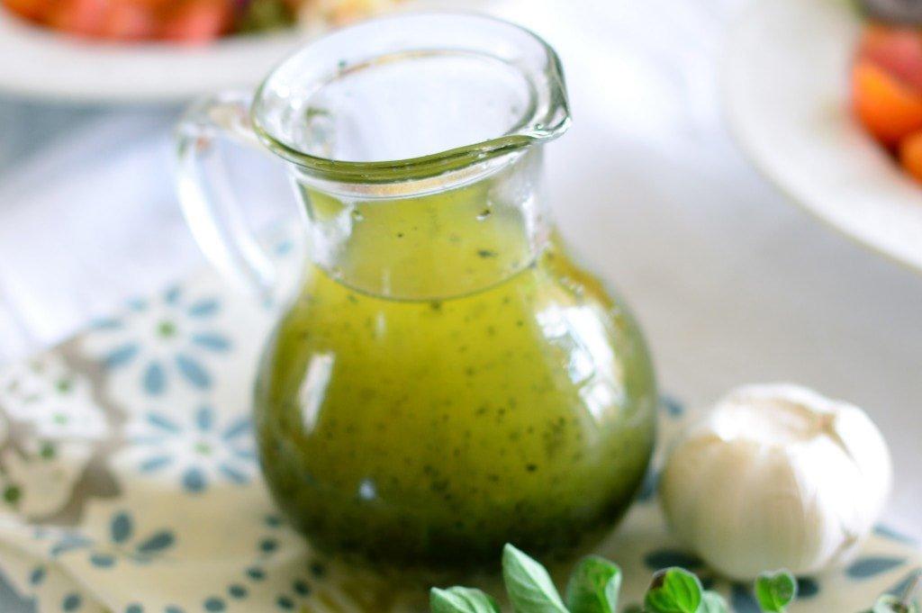 Заправка для греческого салата