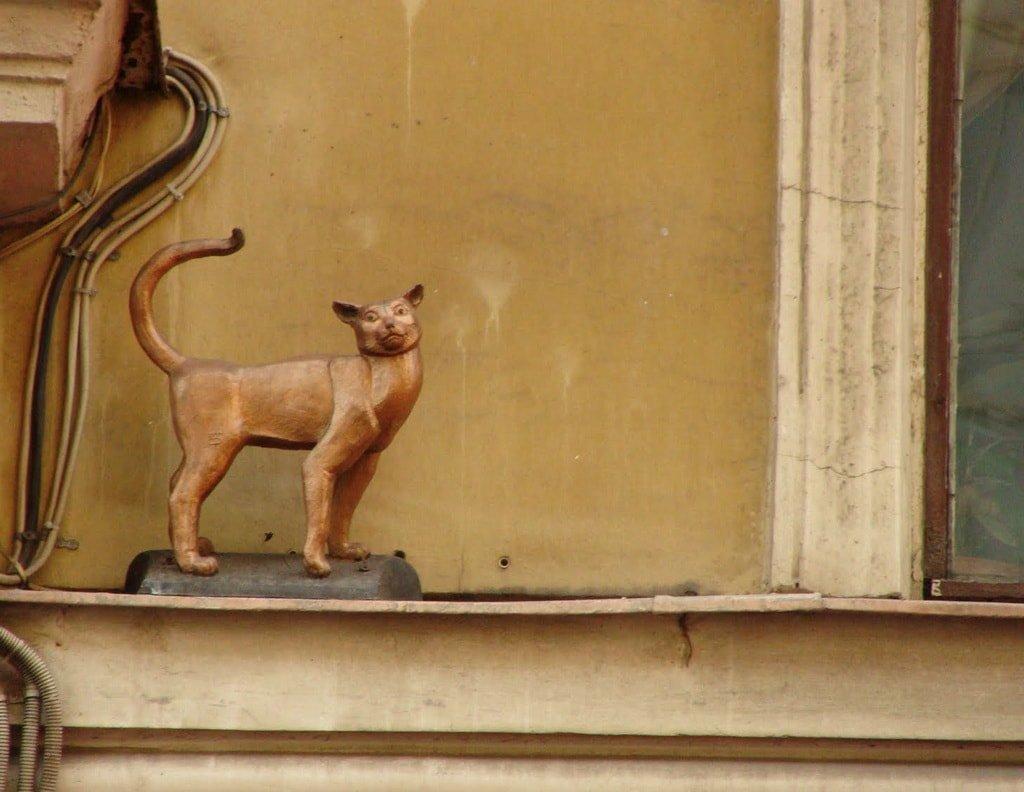 Кот Елисей и кошка Василиса