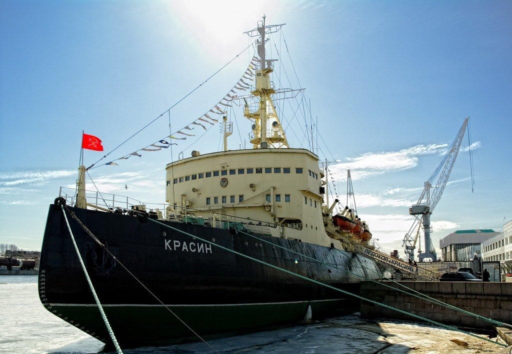 Ледокол-музей «Красин»