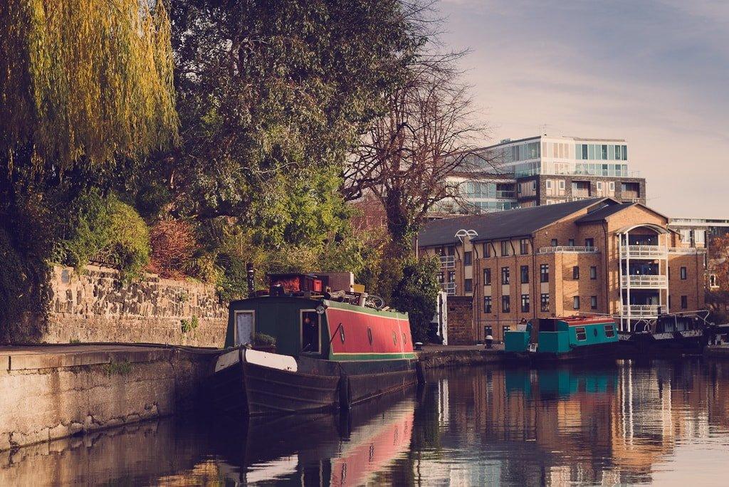 Водный Риджентс-канал Лондона
