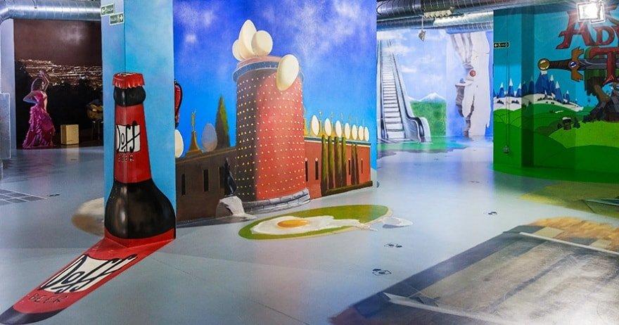 Музей иллюзий Барселоны