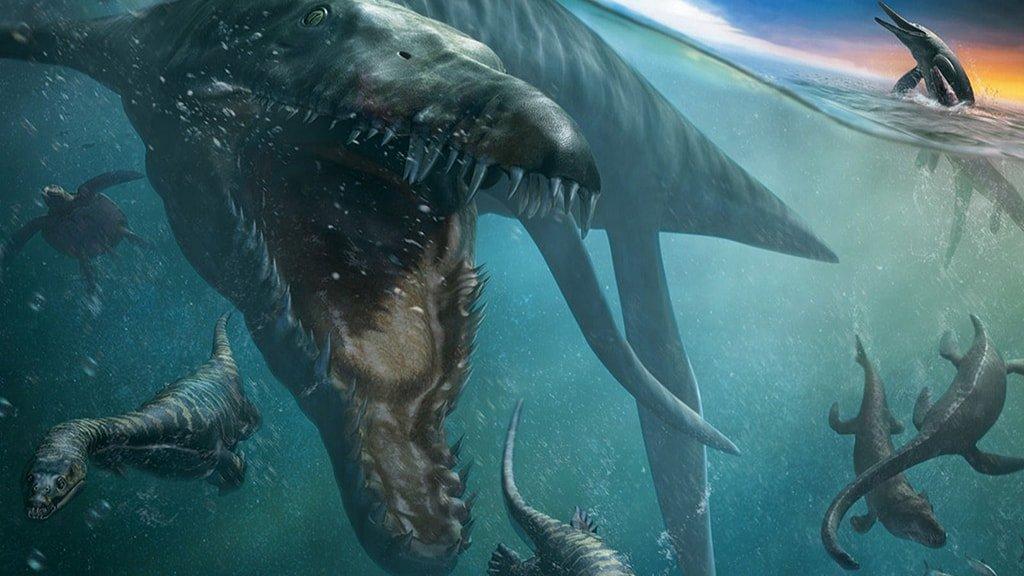 Чудища морей 3D Доисторические приключение