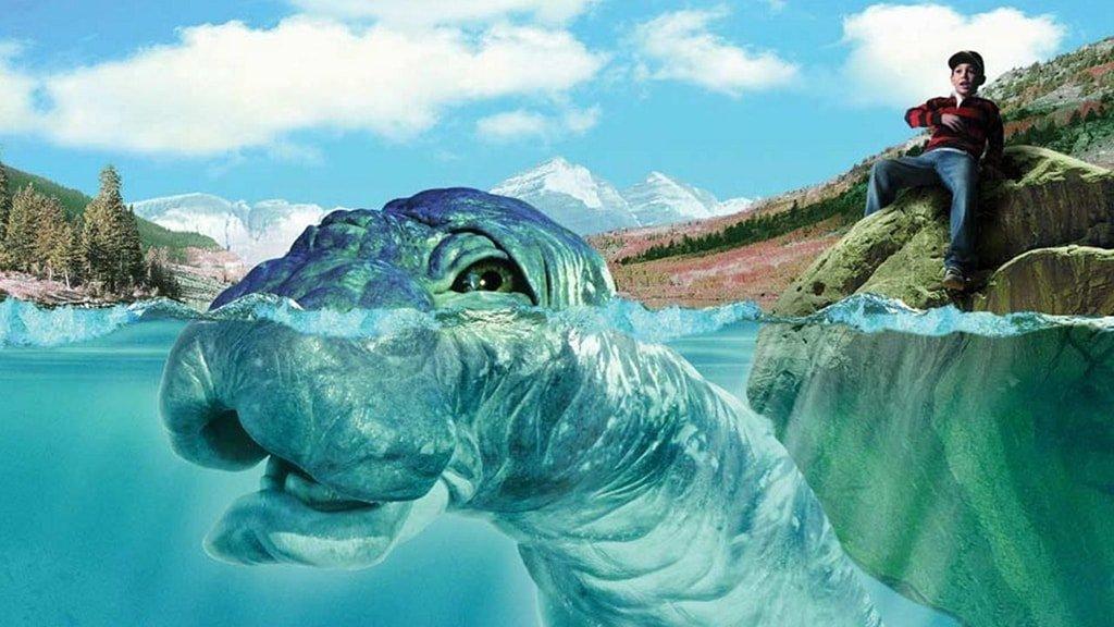 Динозавр Ми-Ши Хозяин озера