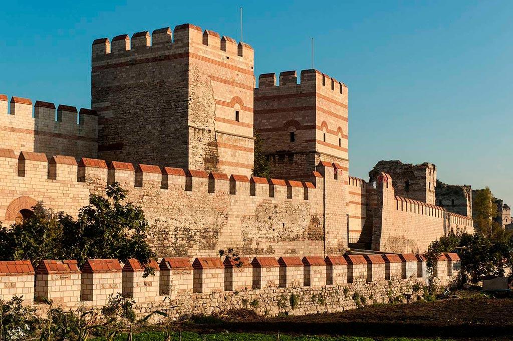 Стены-Константинополя