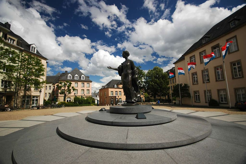 Памятник герцогине