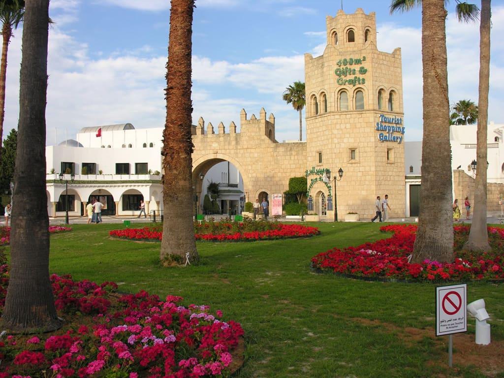 Крепостные ворота Порт Эль-Кантауи