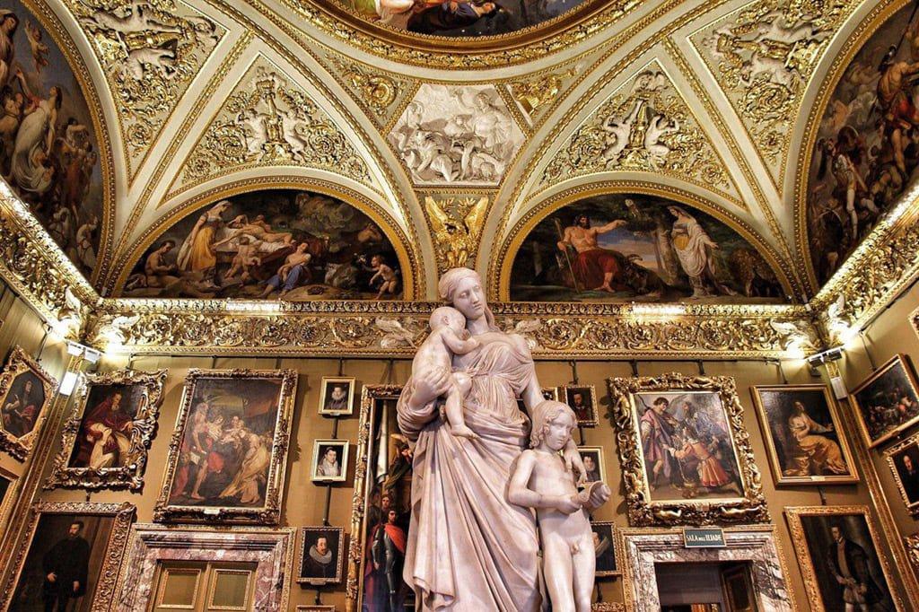 Музейный комплекс в Палаццо ПиттиМузейный комплекс в Палаццо Питти