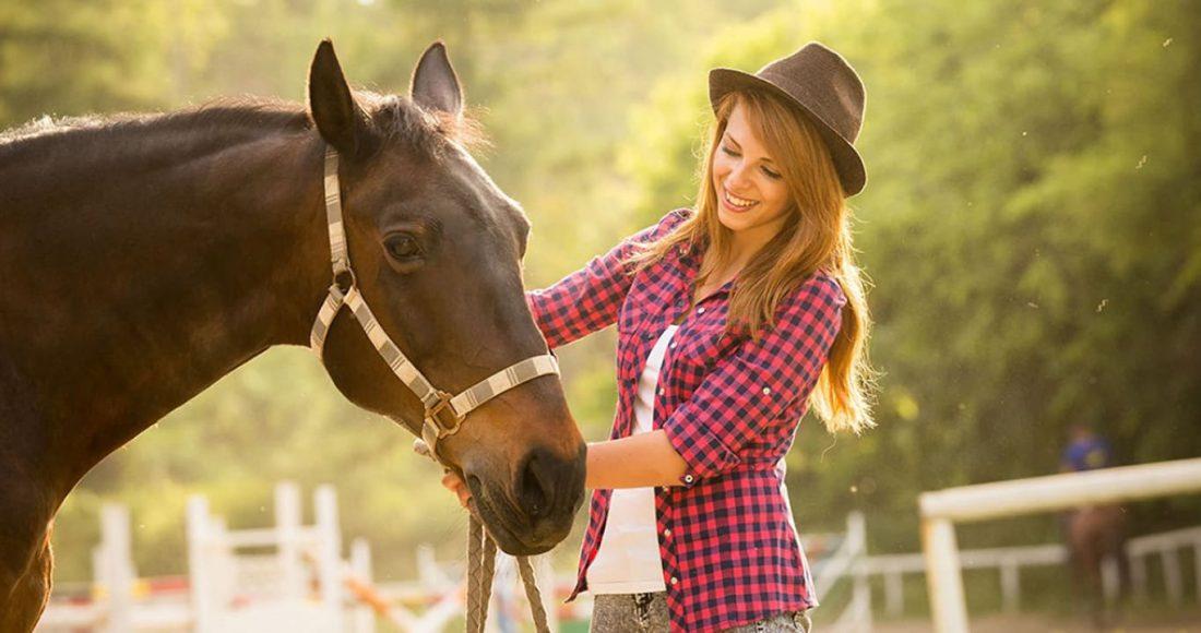 Конные прогулки в Москве – где покататься на лошадях