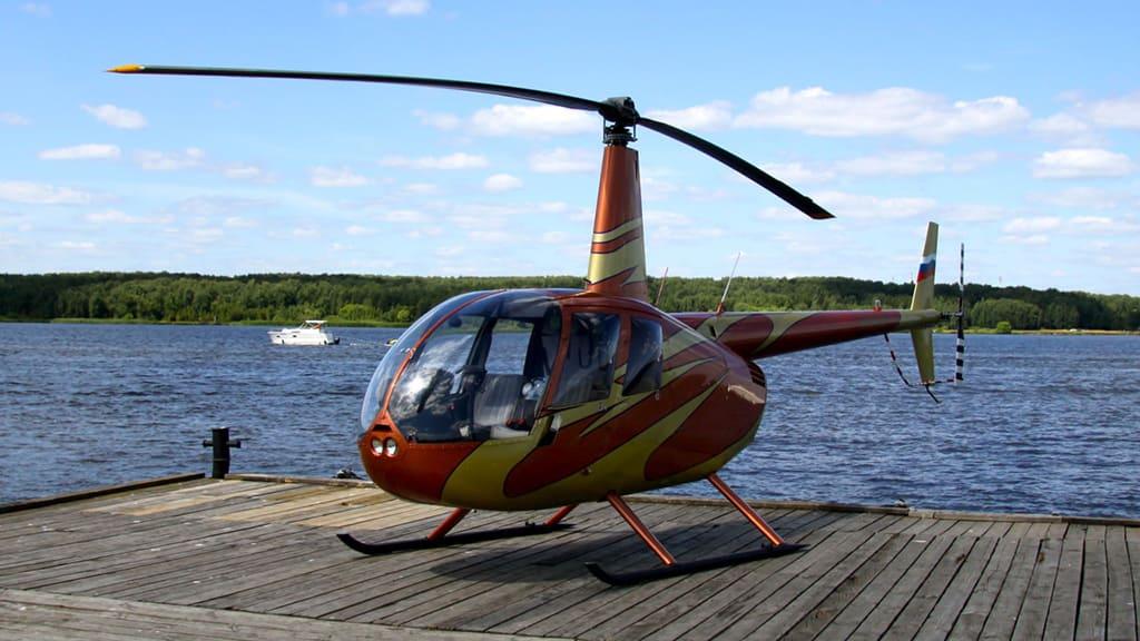 Вертолетная прогулка в Троицком