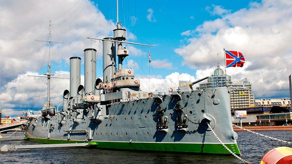 Экскурсия на крейсер Аврора в Санкт-Петербург