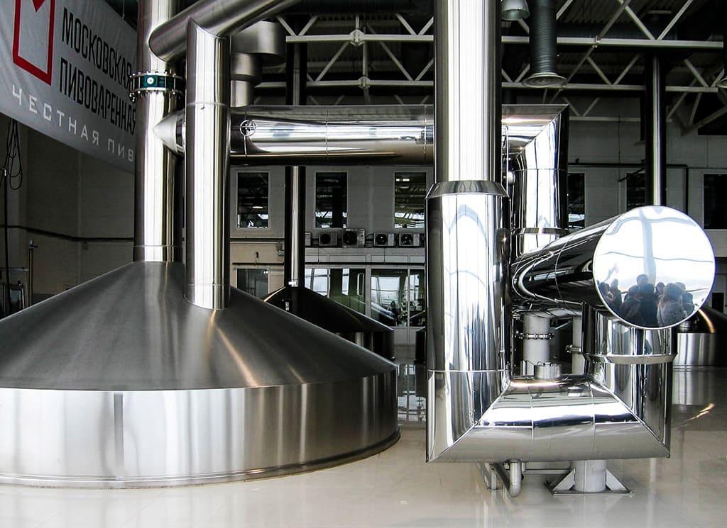Экскурсия на пивоваренный завод в Москве