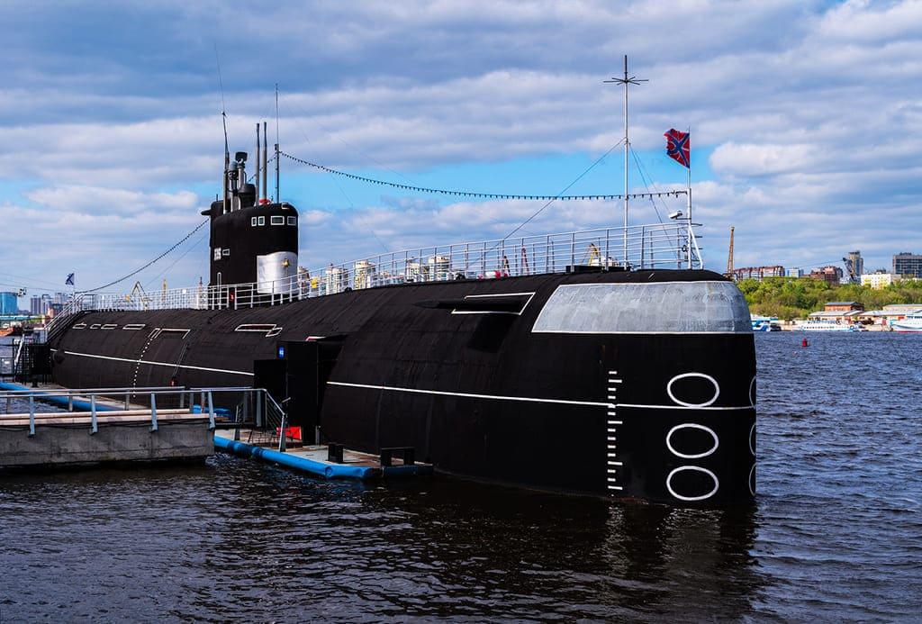 Экскурсия на подводную лодку в Москве