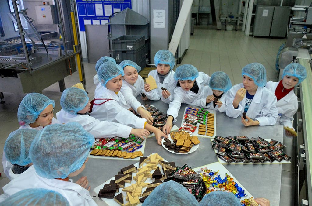 Экскурсия на шоколадную фабрику в Санкт-Петербурге