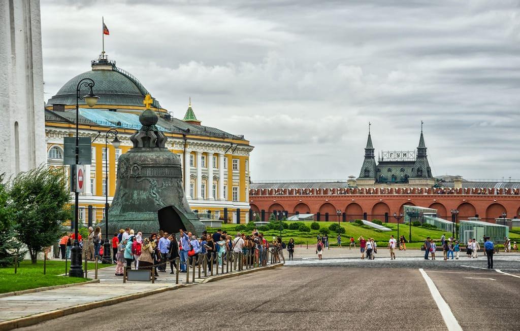 Экскурсия в Кремль в Москве