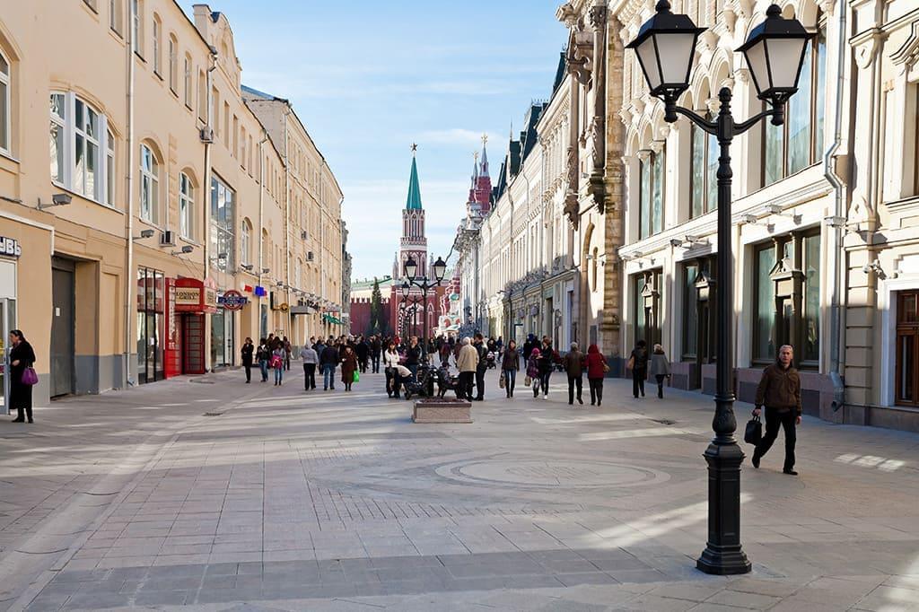 Обзорная пешая экскурсия по Москве