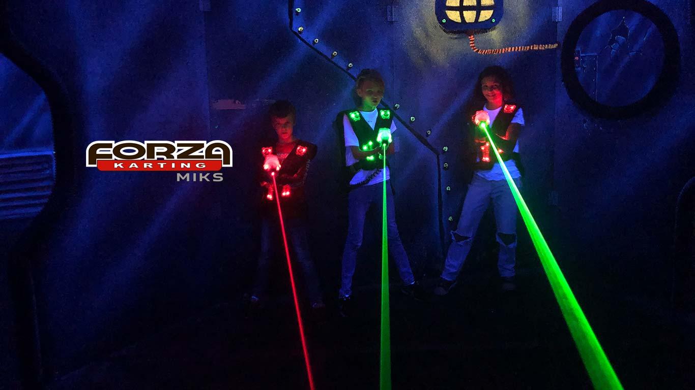 Лазертаг в Москве для детей и взрослых