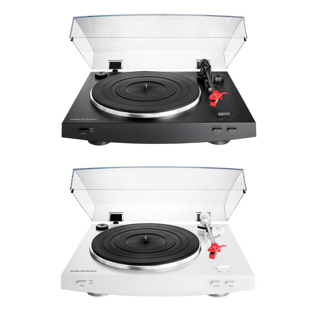 Audio-Technica AT-LP3 белый и черный