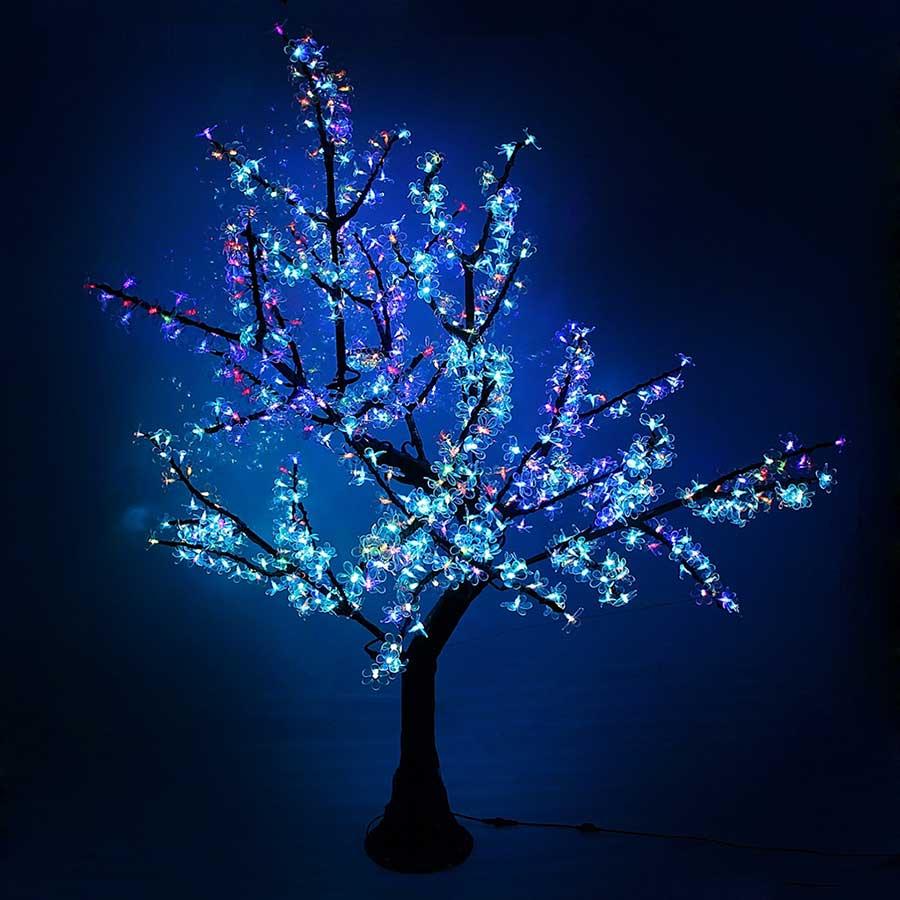 Дерево комнатное светящееся
